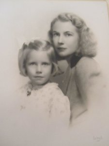 Me and mama by Bachrach