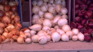 Onions on Display