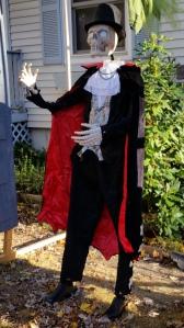 Halloween Well dressed Skeleton