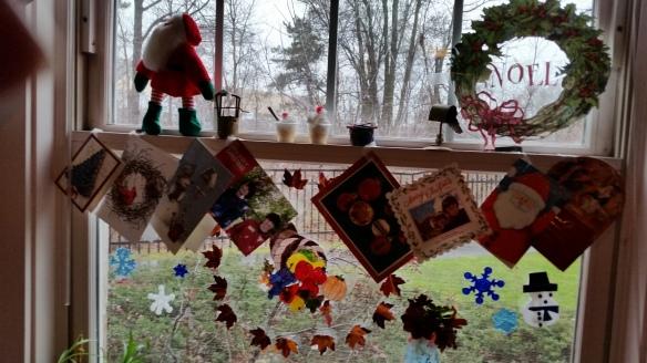 Laura Dodge's Christmas window