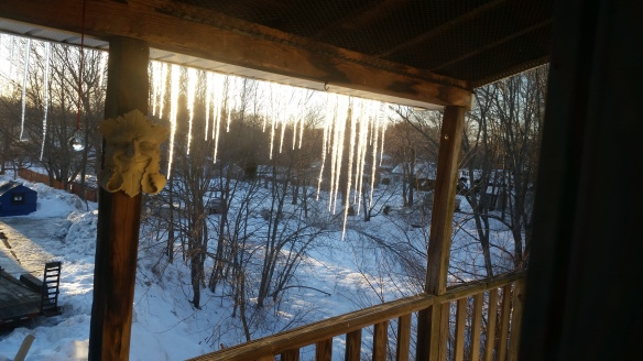 Porch Icicles 3