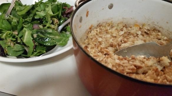 Salad and casserole 2
