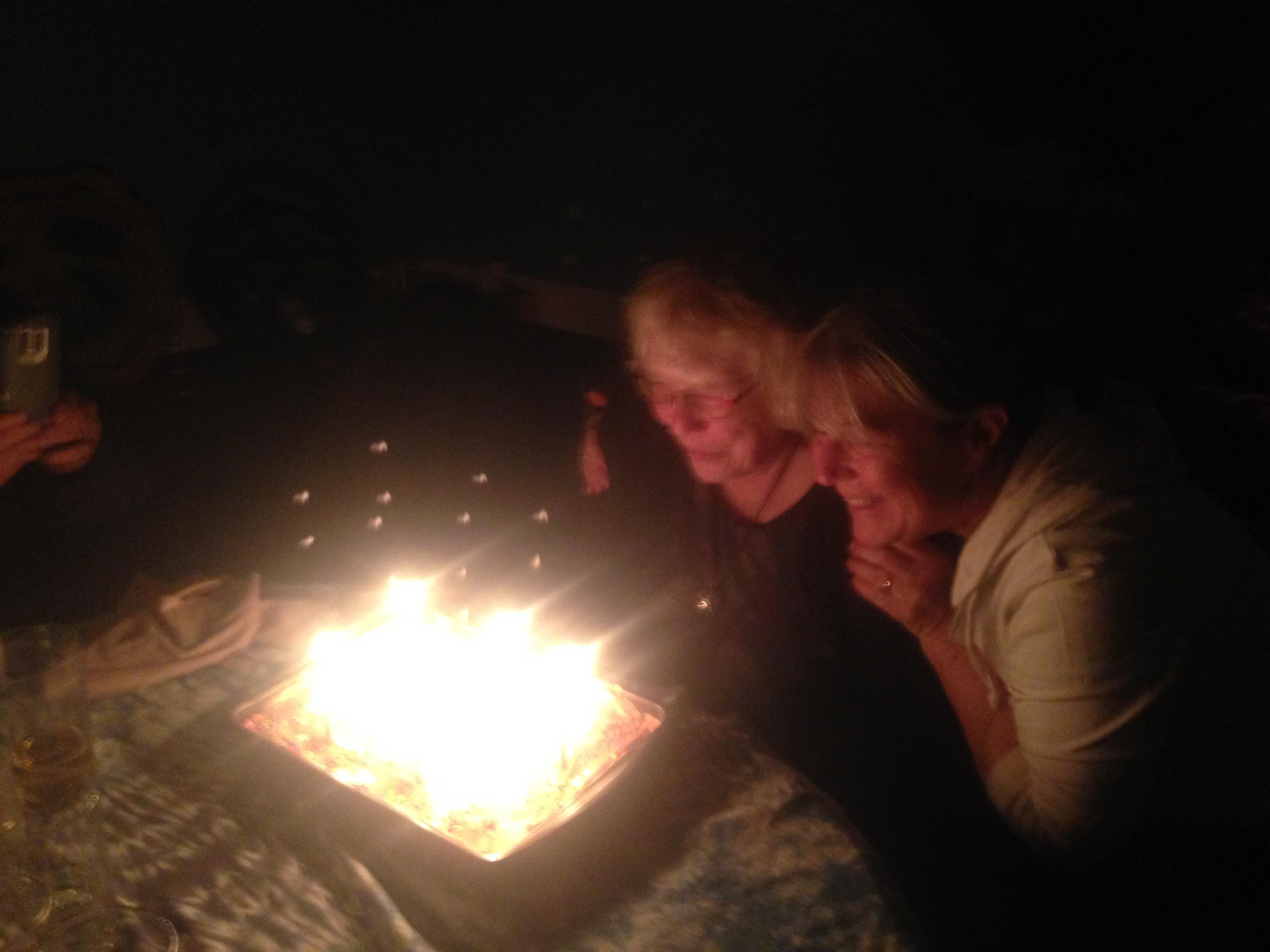 Grandmothers 3, cake